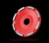 Standard cup wheel