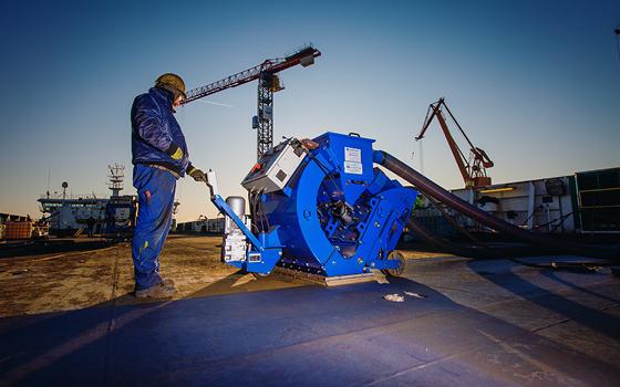 A Successful Steel Blasting Jobsite in Sweden