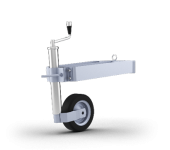 Front- transport wheel
