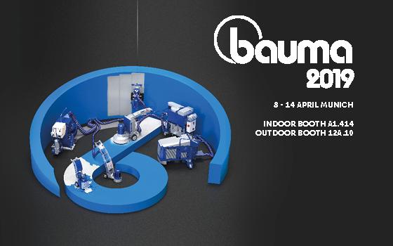 Come and visit us at BAUMA 2019!